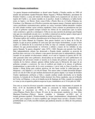 Guerra Hispano Estadounidense