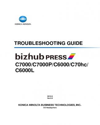 Troubleshooting Guide C7000/c7000p/c6000/c70hc/ C6000l - ID