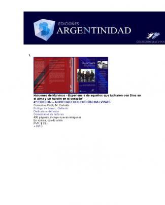 Ediciones Argentinidad Libros Con Links