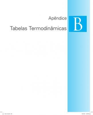 Tabelas Termodinâmicas  Livro Do Van Wylen