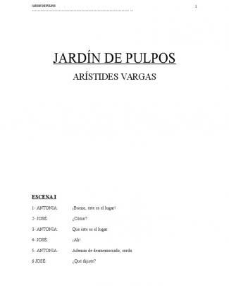 Aristides Vargas - Jardin De Pulpos